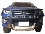 Bullbar poliuretan cu protectie faruri Toyota Hilux Revo 2015, 2016, 2017, 2018, 2019 TYA406