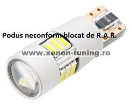Led Auto Canbus T10 15 Smd 4014 9-30V - fara polaritate - BTLE1513