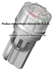 Led Auto T10 3 Smd 3020 12V fara polaritate - BTLE5059