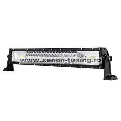 """LED Bar Auto 324W, leduri pe 3 randuri, 12V-24V, 22680 Lumeni, 21,5""""/54,6 cm, Combo Beam 12/60 Grade"""