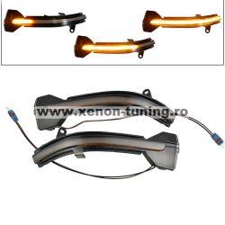 Set 2 Semnalizari Led Oglinda Dinamice BMW X3, X4, X5 F15, X6 F16 - BTLL-236D-1