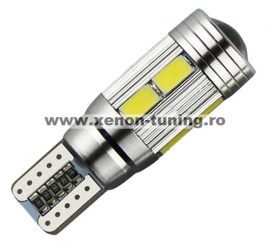 Led auto Canbus T10 cu 10 SMD 5730 - BTLEK041