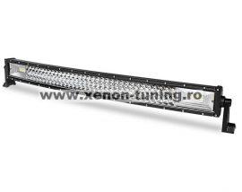 """LED Bar Auto Curbat 459W, leduri pe 3 randuri, 12V-24V, 34020 Lumeni, 31,5""""/82 cm, Combo Beam 12/60 Grade"""