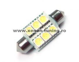 Led auto sofit cu 6 SMD 39 mm