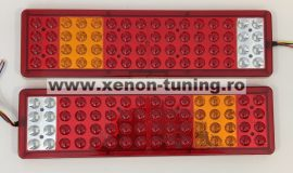 Set 2 Stopuri LED camion 24V cu 5 functii JSM-11