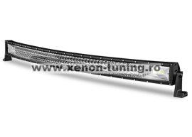 """LED Bar Auto Curbat 594W, leduri pe 3 randuri, 12V-24V, 41580 Lumeni, 42""""/107 cm, Combo Beam 12/60 Grade"""