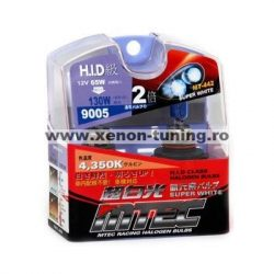SET 2 BECURI AUTO HB3 (9005) MTEC SUPER WHITE - XENON EFFECT