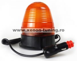 Girofar cu LED cu baza magnetica 12V-24V cu 3 functii WL014(H)