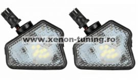 Set 2 Lampi Led Undermirror Mercedes A, B, C, E, S, CLA, CLS, GLA, GLK -BTLL-357