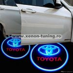 Proiectoare Portiere cu Logo Toyota - BTLW218