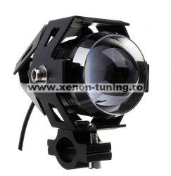 """Proiector LED ATV, Moto de 2"""" cu 2 faze si functie Stroboscop, putere 10W BTBP-ML209-U5"""