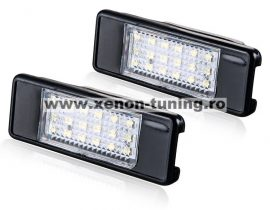 Set 2 Lampi Numar Led Peugeot 407, 406, 308, 3008, 508 - BTLL-086