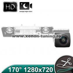 Camera marsarier HD, unghi 170 grade cu StarLight Night Vision Skoda Octavia 2 (2004 - 2008), Octavia 3 Hatchback - FA9036