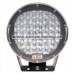 Proiector LED Auto Offroad 225W, 12V-24V, 18000 Lumeni, Rotund, Spot Beam