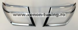 Ornamente cromate faruri Nissan Navara D40 2010 - 2015 NN10HLCC