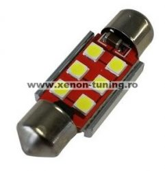 Led auto sofit 36mm Canbus cu 6 smd 3030 - G15-36MM