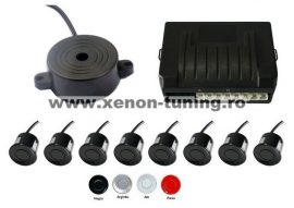 Senzori parcare fata spate cu 8 senzori si avertizare sonora S200-8