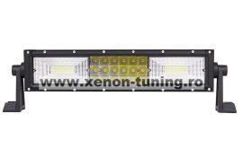 """LED Bar Auto Curbat 216W, leduri pe 3 randuri, 12V-24V, 15120 Lumeni, 13,5""""/34,2 cm, Combo Beam 12/60 Grade"""
