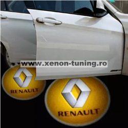 Proiectoare Portiere cu Logo Renault - BTLW092