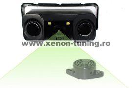 Sistem de parcare 2 in 1 cu camera de marsarier si 2 senzori de parcare incorporati S451