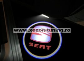 Proiectoare Portiere cu Logo Seat