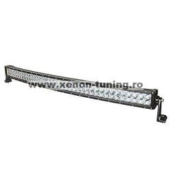 "LED Bar 4D Curbat 240W/12V-24V, 20400 Lumeni, 42""/106 cm, Combo Beam 12/60 Grade"