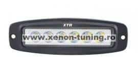 Proiector LED Auto Offroad 18W/12V-24V, 1320 Lumeni, 20cm Incastrabil Spot 30 grade BTWL-B1OE-18-SPOT