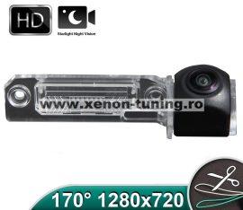 Camera marsarier HD, unghi 170 grade cu StarLight Night Vision pentru Skoda Superb 2 Sedan - FA8059