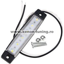 Lampa gabarit auto cu LED 24V Alba LG-6SMD-24V-ALB