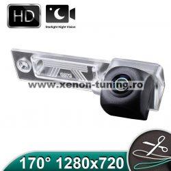 Camera marsarier HD, unghi 170 grade cu StarLight Night Vision VW Passat B5 Sedan, B6 Variant, Touran, Caddy, Jetta, Golf Plus - FA9136
