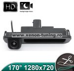 Camera marsarier HD, unghi 170 grade cu StarLight Night Vision FORD FOCUS 3 Hatchback/Break pe manerul de la hayon - FA914