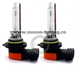 Set 2 becuri HB4 (9006) / HB3 (9005) xenon premium +30% mai multa lumina