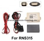 Interfata video, convertor CVBS-RGBS pentru montare camera marsarier aftermarket la RNS315