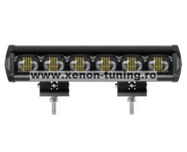 """LED Bar Auto 60W 6D 12V-24V, 6480 Lumeni, 15""""/37 cm"""