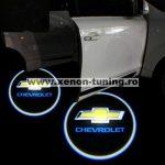 Proiectoare Portiere cu Logo Chevrolet - BTLW045