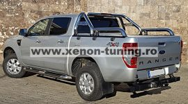"""Rollbar inox cu rail Toyota Hilux 2005, 2006, 2007, 2008, 2009, 2010, 2011  3""""/76mm RBL-RV15-RBL"""