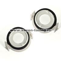 Set 2 adaptoare bec LED si Xenon pentru BMW E46, E65, E90
