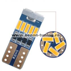 Led Auto Canbus T10 15 Smd 4014 12V T10-4014-15SMD