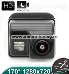 Camera marsarier HD, unghi 170 grade cu StarLight Night Vision pentru Mazda CX-5, CX-7, CX-9, Mazda 3, Mazda 6 - FA927