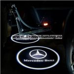 Proiectoare Portiere cu Logo Mercedes-Benz - BTLW003