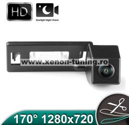 Camera marsarier HD cu StarLight Night Vision pentru Audi A1, A4, A5, A6, A7, Q5 - FA727