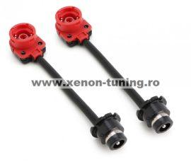 Set 2 adaptoare, prelungitoare D2S - D2S pentru bec xenon D2S/D2R/D4S/D4R