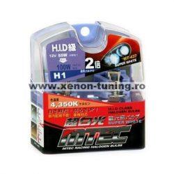 SET 2 BECURI AUTO H1 MTEC SUPER WHITE - XENON EFFECT