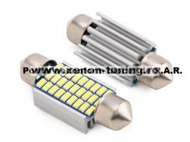 Led Auto CANBUS Sofit 36 mm 27 SMD 3014 - fara polaritate - BTLE1560-36
