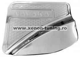 Capac rezervor cromat Nissan Navara NP300 2015, 2016, 2017, 2018, 2019 NSE082
