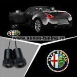 Proiectoare Portiere cu Logo Alfa Romeo - BTLW089