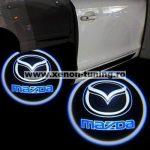Proiectoare Portiere cu Logo Mazda - BTLW012