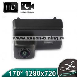 Camera marsarier HD, unghi 170 grade cu StarLight Night Vision Peugeot 206, 207, 307 SW, 407 SW, 5008, Partner - FA966