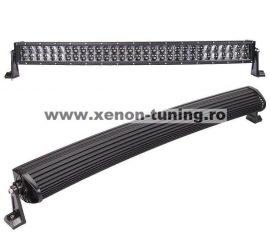 "LED Bar 4D Curbat 180W/12V-24V, 15300 Lumeni, 32""/81 cm, Combo Beam 12/60 Grade"
