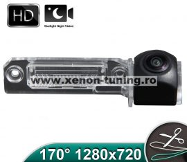 Camera marsarier HD, unghi 170 grade cu StarLight Night Vision pentru SEAT LEON 2005-2012, EXEO 2008 ~, ALTEA, ALTEA XL - FA8059
